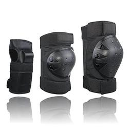 XINGCHENGSPORT 6 in 1 Adult&Kids Knee Pads Elbow Pads Wrist