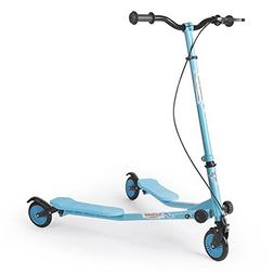 AODI 3 Wheel Scooter Foldable Kick Scooter Self Push Motion