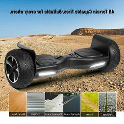 8.5'' All-Terrain Off Road Hummer Hoverboard Self Balancing