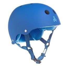 Triple 8  Rubber Helmet with Sweatsaver Liner