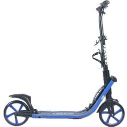 8 inch large wheel kick push scooter