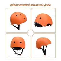 Adjustable Adult Kid Helmet Bicycle Bike Cycling Scooter Ska