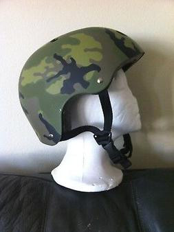 Adult Helmet Camoflage 58cm-60cm Cycling Skateboard Scooter