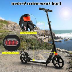 ANCHEER Adult Scooter Kid Scooter Kick Folding 3 Adjustable