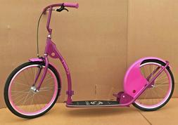 "Adult Kick Scooter Kick Bike 20"" Wheels Purple"