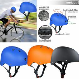 Adult Kids Skate Helmet BMX Bike Scooter Board Helmets Adjus