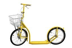 """Amish-Made Deluxe Kick Scooter Bike - 16"""" Wheel"""