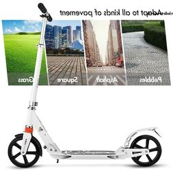 Ancheer T-Style Big Wheels Kick Scooter Adult/Teens Easy-Fol