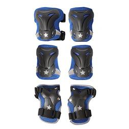 High Boz Knee Pads and Elbow Pads w/ Wrist Guards Protective
