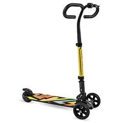 Swagtron Cali Drift Three-Wheel Electric Scooter Folding E-S