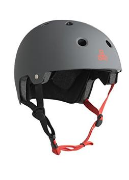 Triple Eight 3013 Dual Certified Helmet, Large/X-Large, Gun
