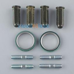 Chinese Scooter Exhaust Studs Nuts Gasket Set GY6 50cc 125cc