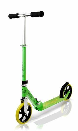 NEW Fuzion Cityglide Adult Kick Scooter Green FREE SHIPPING
