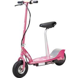 Razor E300S Seated Electric Scooter - Sweet Pea