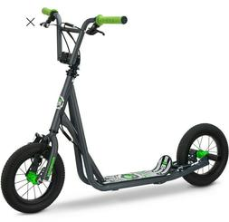 Mongoose Expo Kids Scooter - Grey/Green or Pink