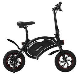 ANCHEER Folding Electric Bicycle/E-Bike/Scooter 350W Ebike w