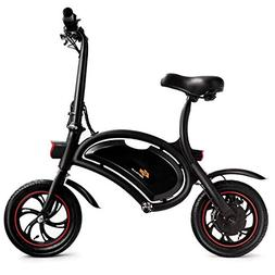 Goplus Folding Electric Bike Lightweight E-Bike Mini Electri