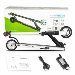 Megawheels Folding Electric Scooter 250W Aluminum Adults Tee