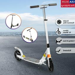 Folding Kick Scooter Adult Ride Portable Outdoor Scooter for