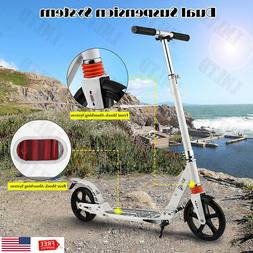 Ancheer Folding Kick Scooter Sport Portable Adjustable Stree