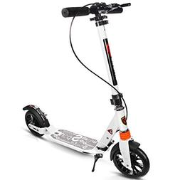 Goplus Folding Kick Scooter for Adult Teen Deluxe Aluminum 2