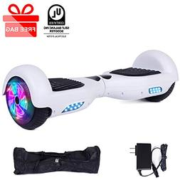 "EPCTEK 6.5"" Hoverboard Self Balancing Electric Scooter UL 22"
