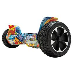 "GOTRAX Hoverfly XL All Terrain Hover Board 8.5"" Solid Rubber"