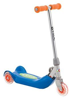 Razor Jr. Folding Kiddie Kick Scooter - Blue