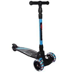 Goplus Kick Scooter Folding for Boys & Girls T-Bar Height Ad