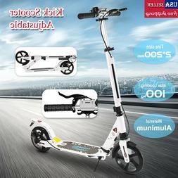 kick scooter lightweight 2 wheel foldable kids