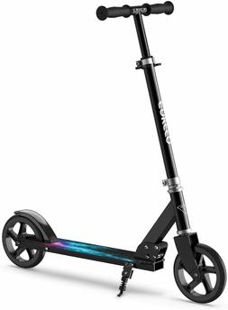 ENKEEO Kick Scooters with 220 lbs Capacity, Scooters for Adu