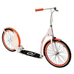 Current Coasters Kickbike Scooter for Teens and Adults, Arct