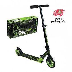 Kids|Adult Kick Scooter Large Front Glide Wheel Adjustable H
