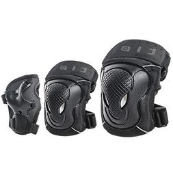 GES Adult/Child Knee Pads Elbow Pads Wrist Guards Protective
