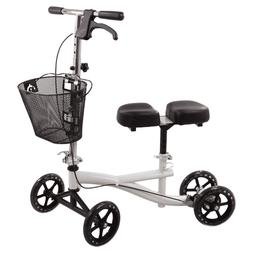 Roscoe Knee Scooter with Basket White