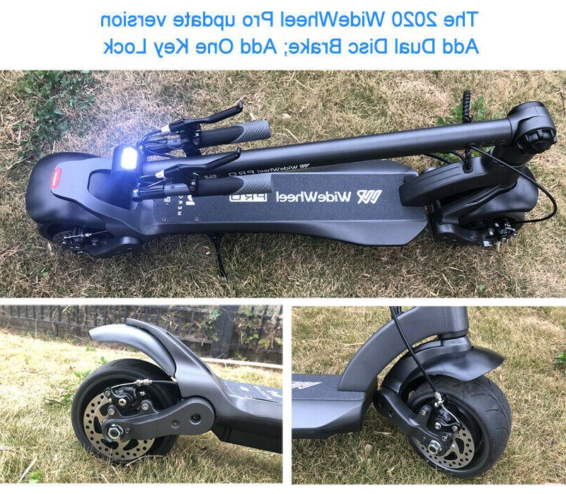 2020 Mercane Wide Wheel PRO electric scooter 1000W Duo 15AH: