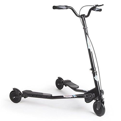 3 wheels scooter swing motion
