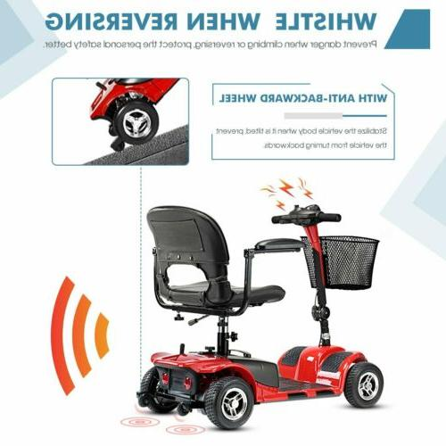 4 Wheels Electric for Scooter Heavy