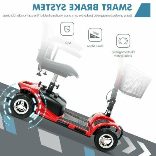 4 Wheels for Adults Power Mobility Scooter Heavy Duty