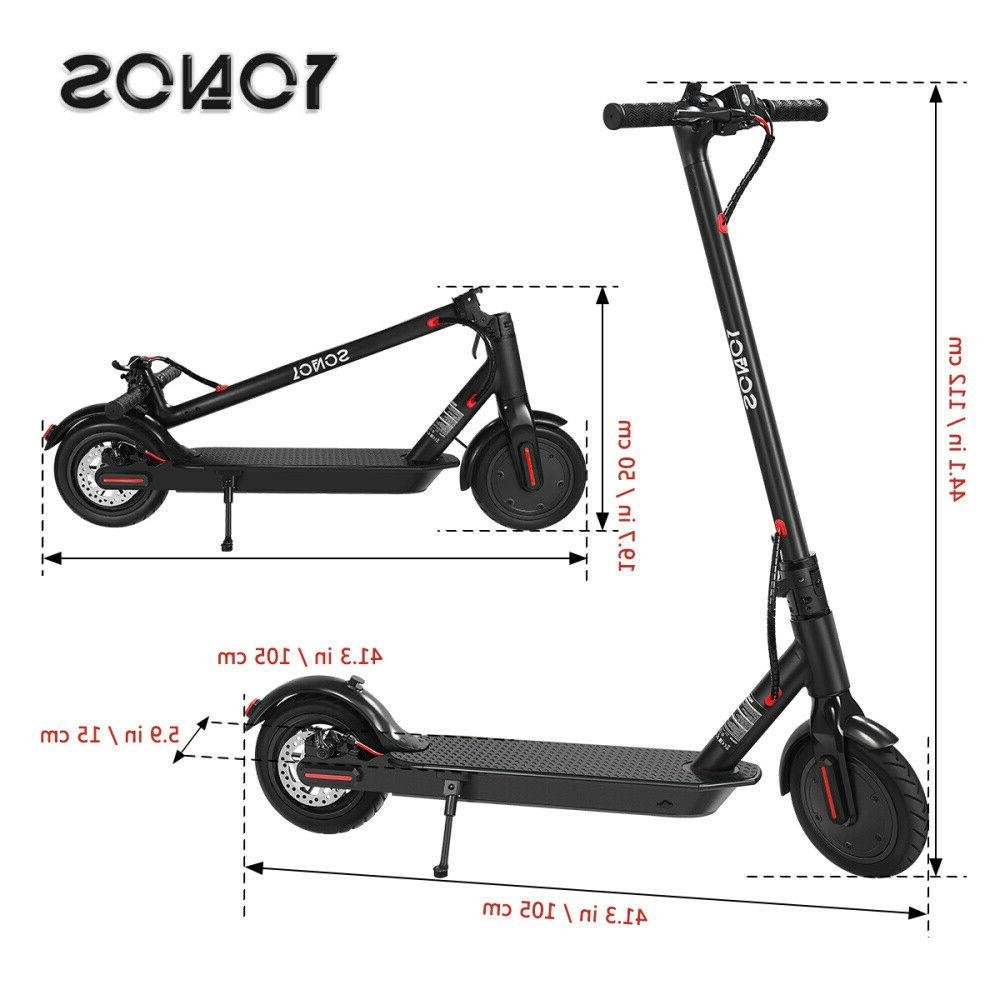 """8.5"""" Adult Kick High Speed City E-Scooter"""