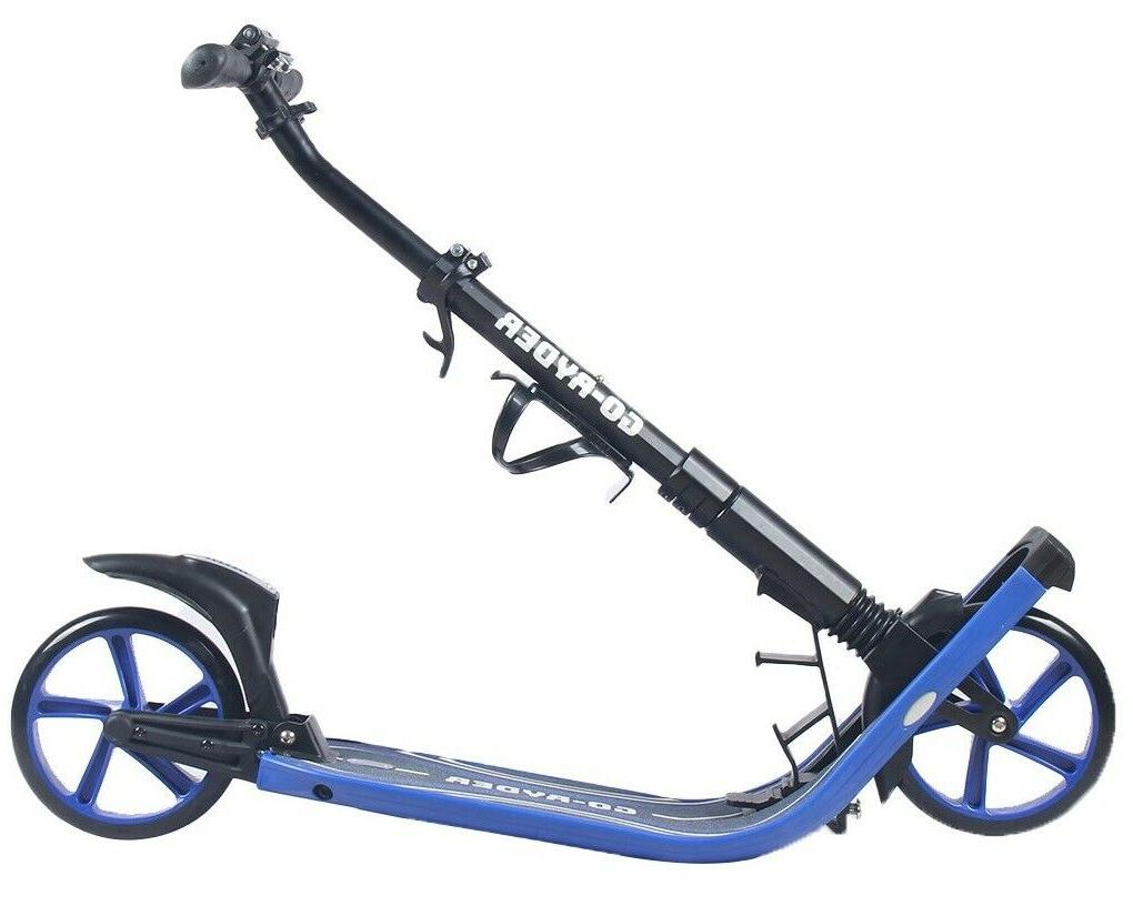 Kick/Push Scooter for Adults Teens Easy Folding Suspension
