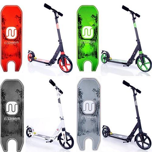 Foldable + Long Rear Kick Scooter