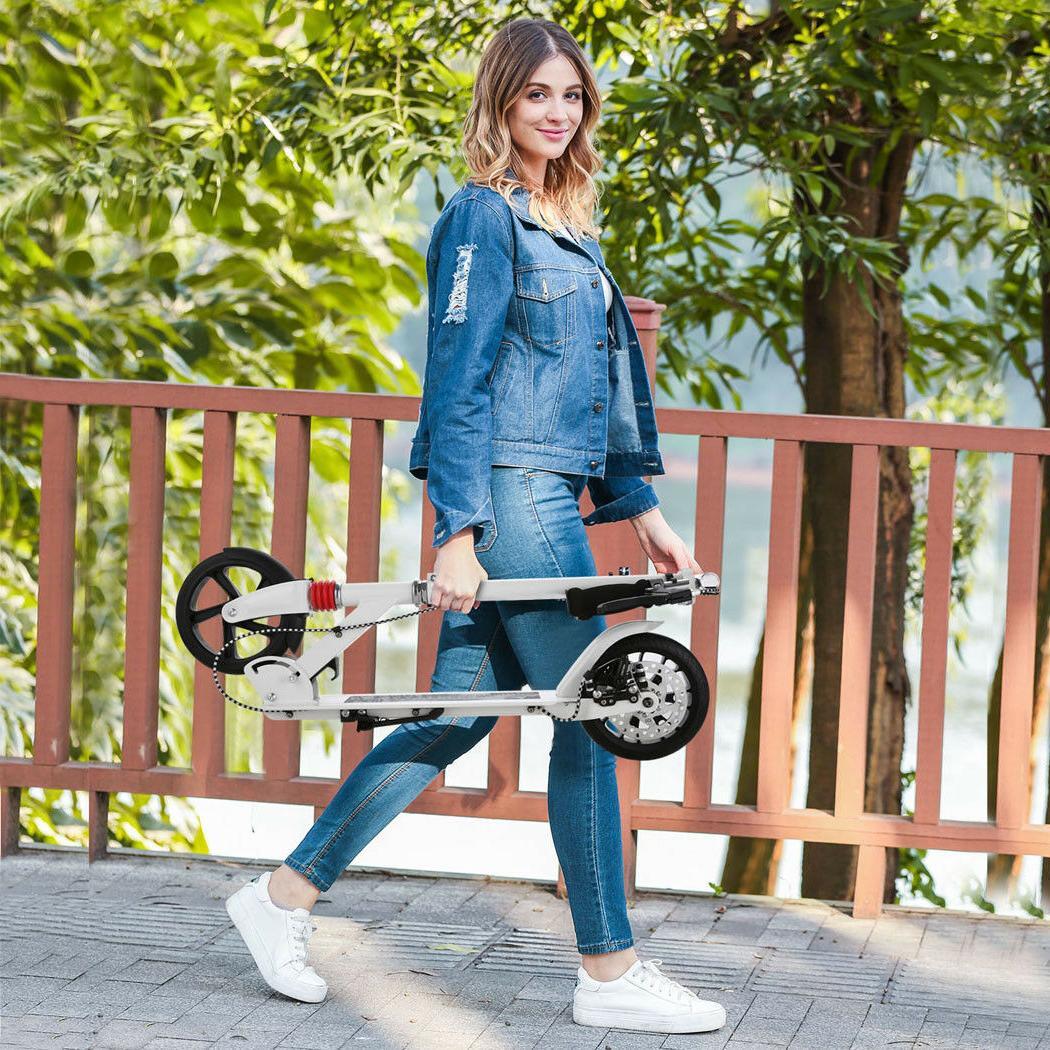 Adult Adjustable 2-Wheel Scooter