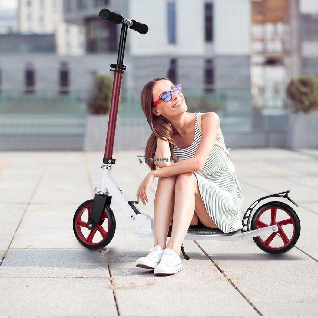 Adult Adjustable 2-Wheel Scooter Rear