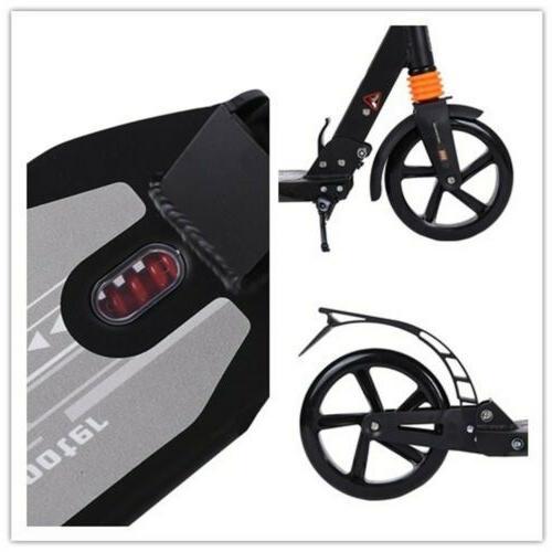 Adult W/ Dual Suspension,Hight-Adjustable Urban Big Wheels.