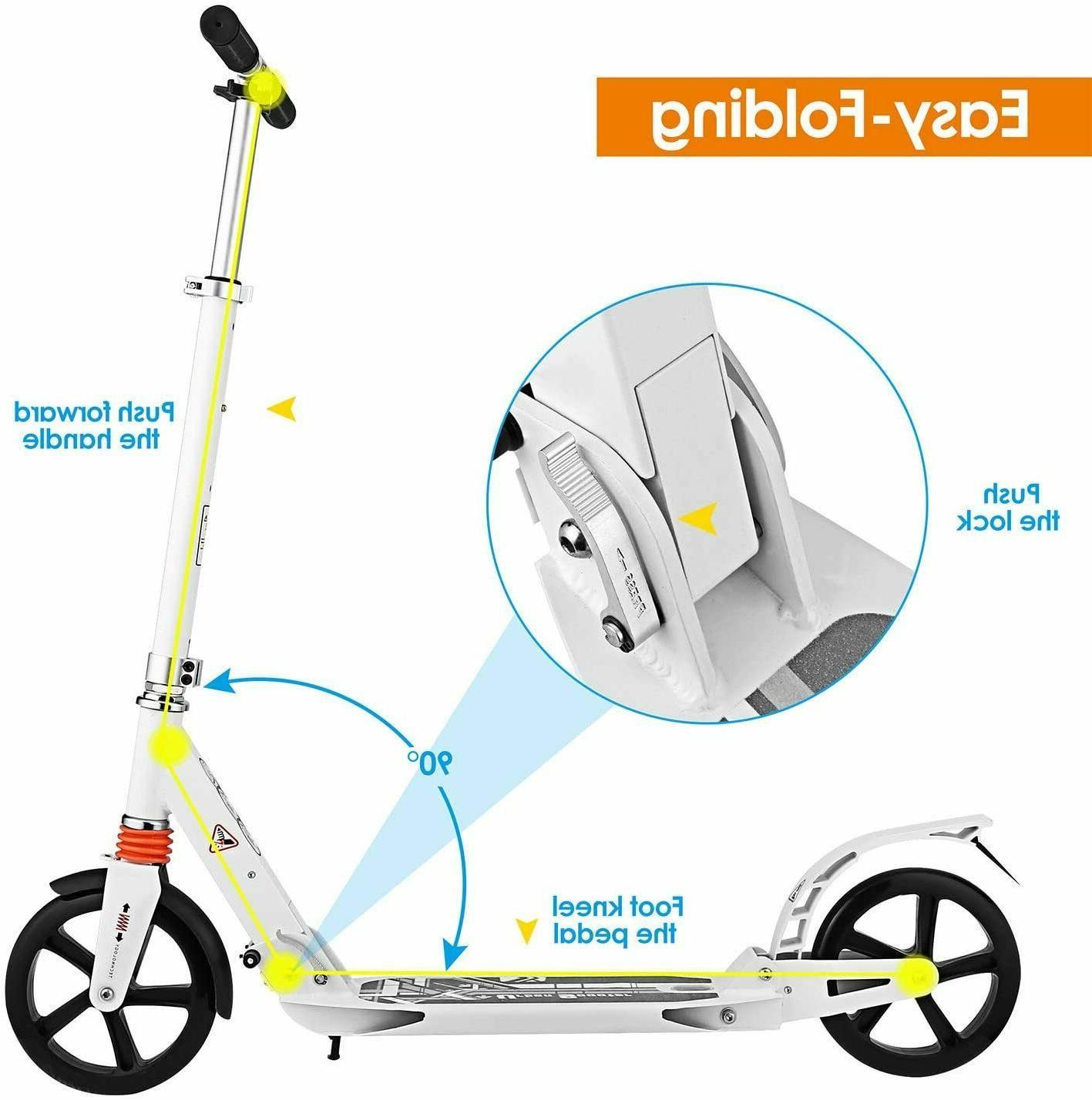 Adult W/ Dual Urban Big Wheels