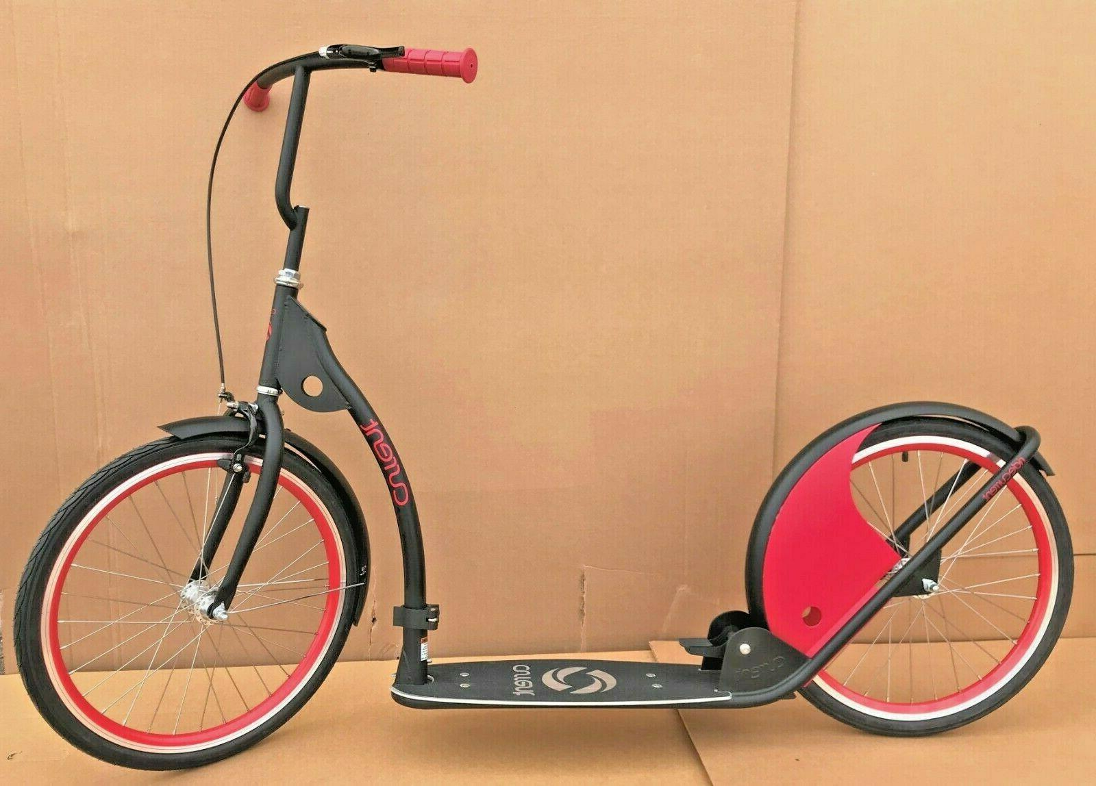 adult kick scooter kick bike 20 wheels
