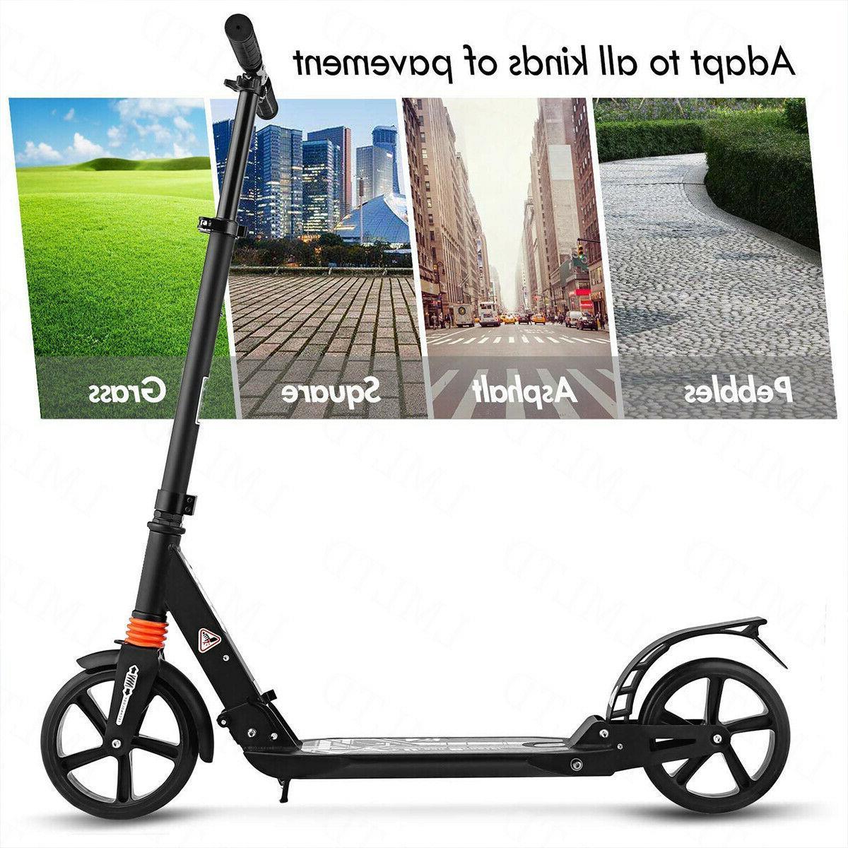 ANCHEER Kid Scooter Kick Adjustable Height Wheels