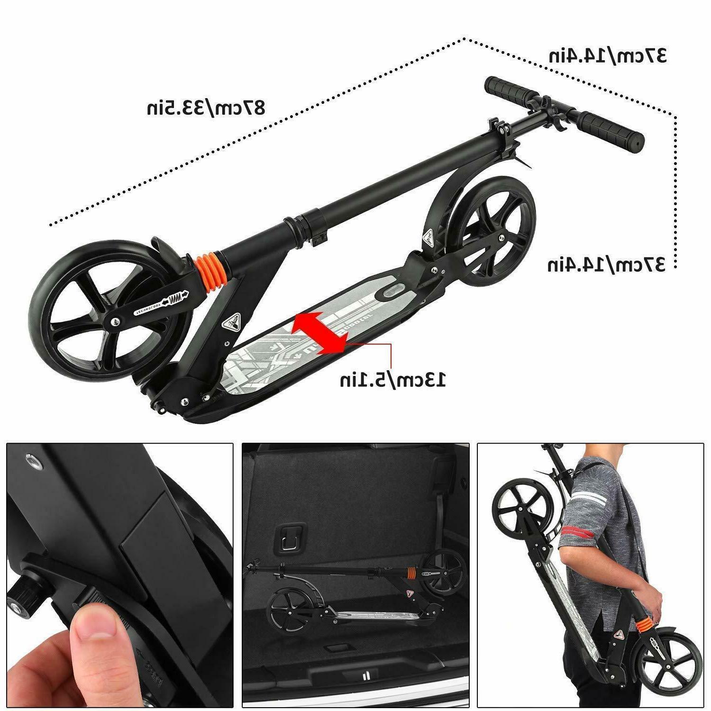 ANCHEER Kid Scooter Adjustable 2 Wheels