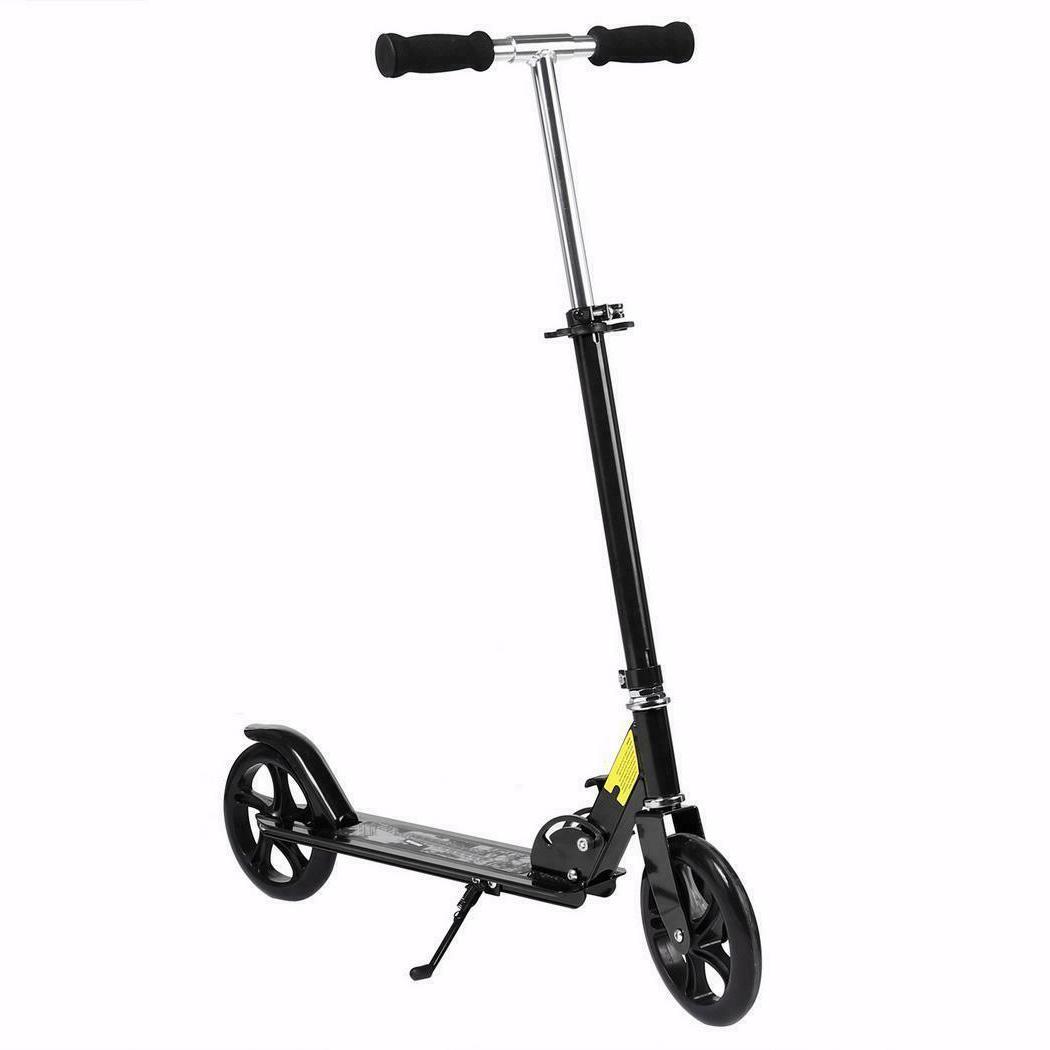 Kids Adult Folding Kick Scooter Sport Wheel Adjustable Ride